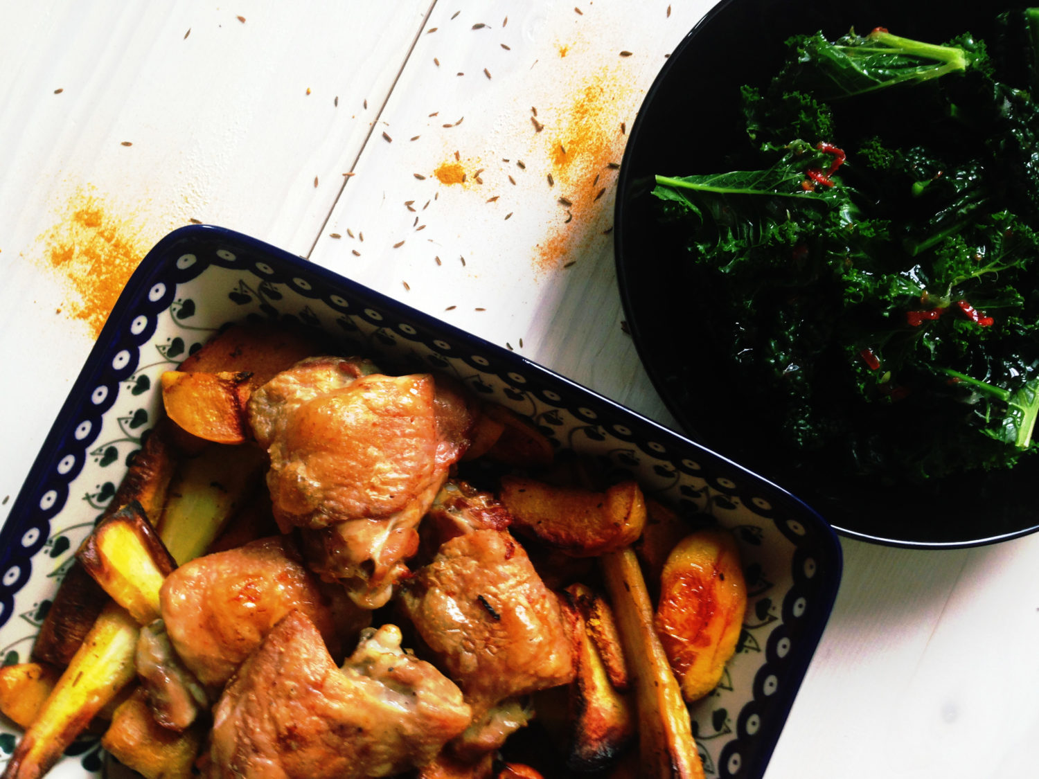 Healthy Roast chicken
