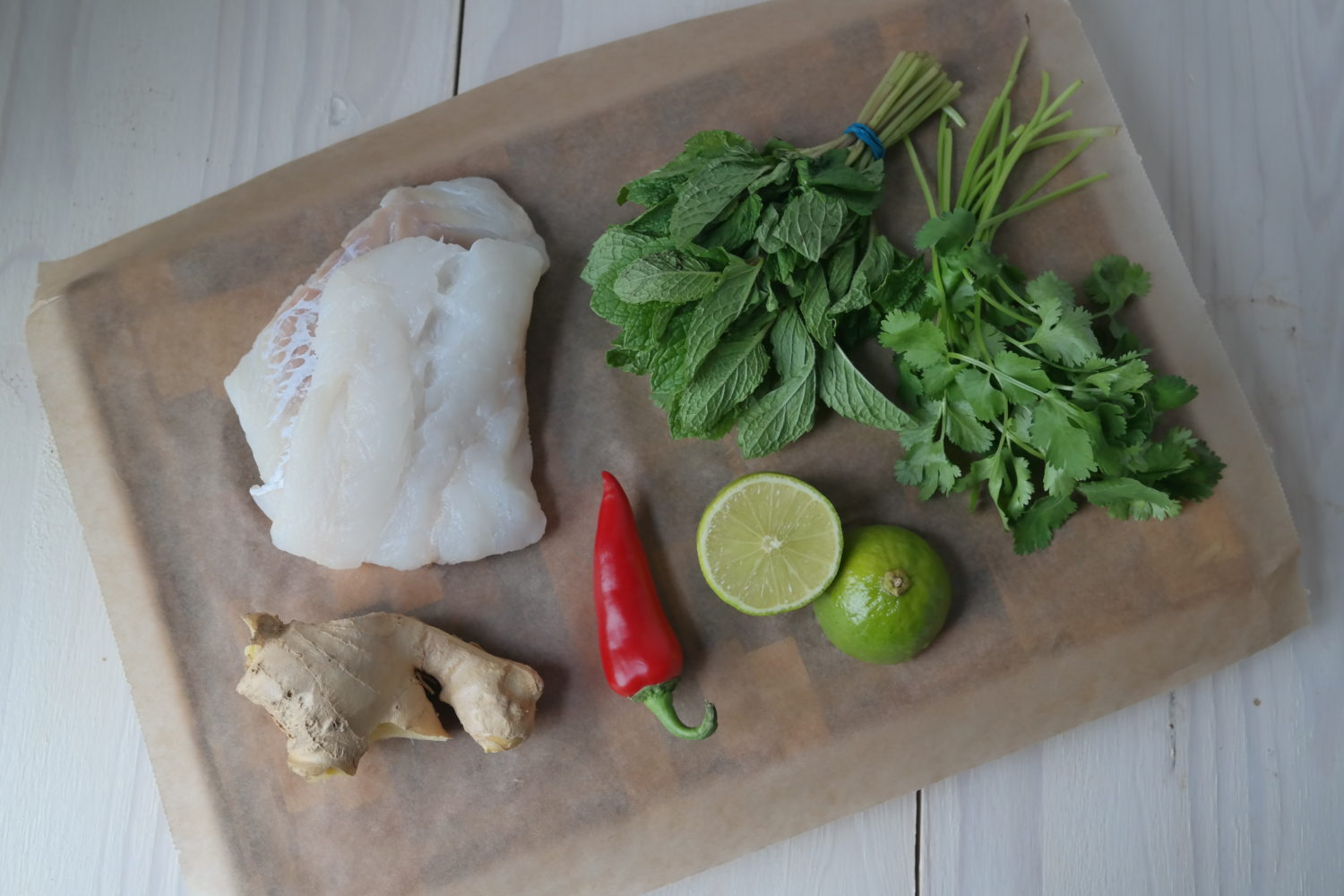 Asian style cod ingredients