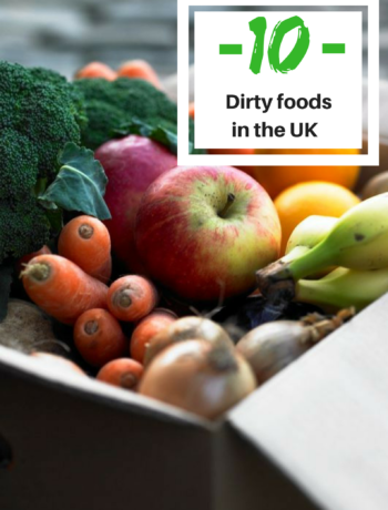 Top 10 dirty foods in the UK