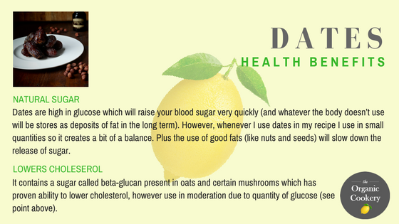 Dates health benefits